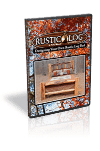 DVD on how to build a rustic log bed.