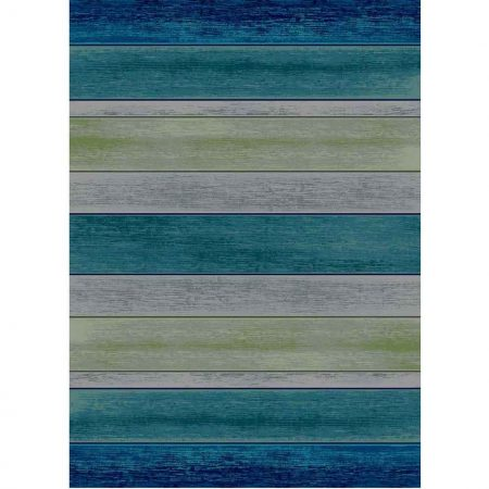 Area rug with a weathered wood boards print
