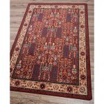 Red Oriental Area Rug