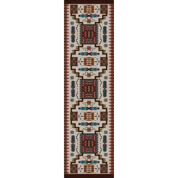 Runner variation of Storm Catcher rug print