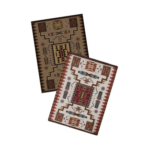 Color choices of Storm Catcher Rug by American Dakota
