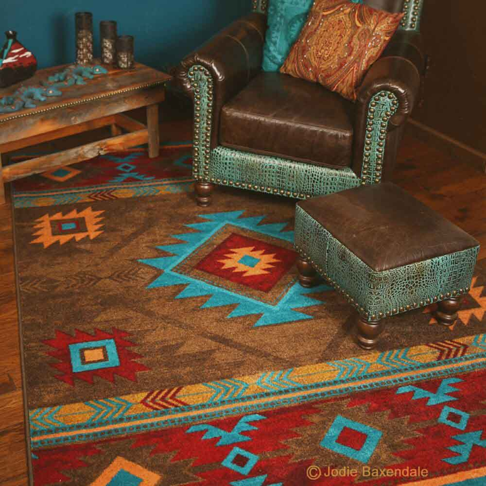 WHISKY RIVER FINE AREA RUGS | Rustic
