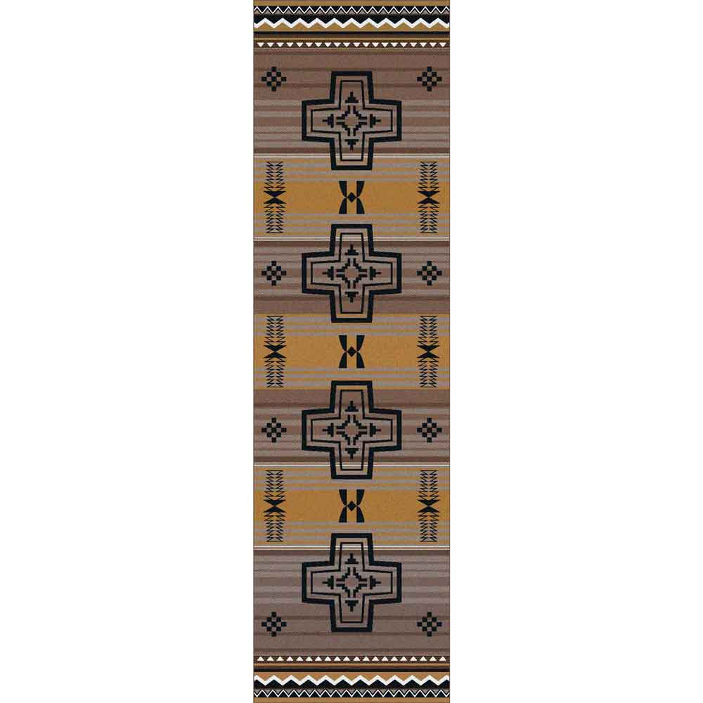 Brazos Southwest Area Rug Rustic Log Originals
