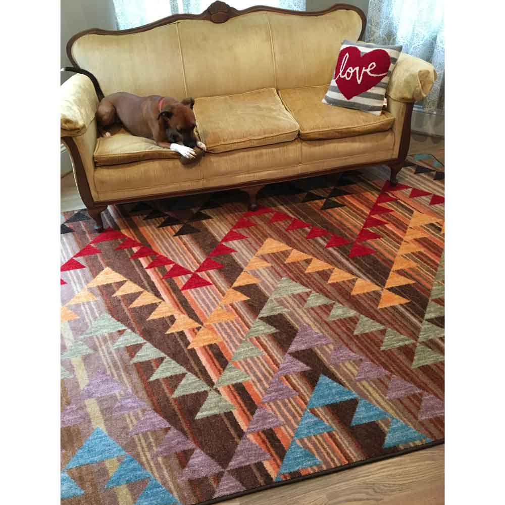 Time Travel Southwest Area Rug | Rustic