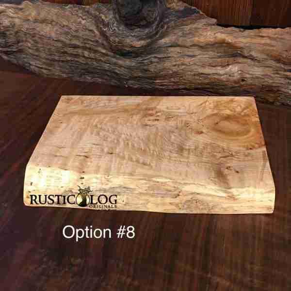 Solid maple butcher block cutting board