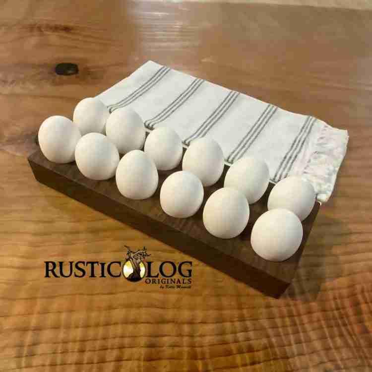 Egg tray.